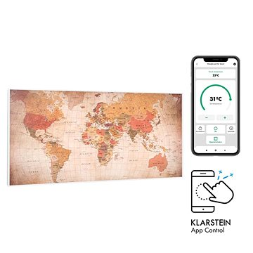Klarstein Wonderwall Air Art Smart, svět (10035128)