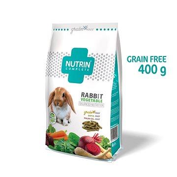 Nutrin Complete GF Králík Vegetable 400 g (8595117404008)