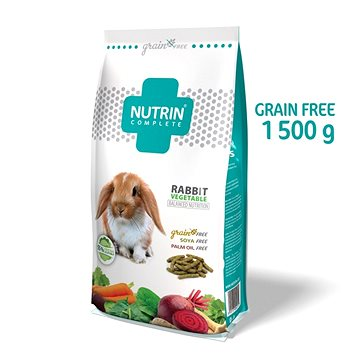 Nutrin Complete GF Králík Vegetable 1500 g (8595117404015)