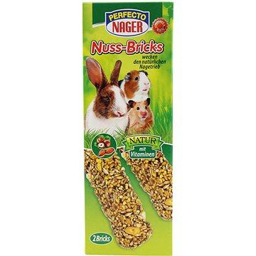 Perfecto Premium Nager Ořechové tyčky 10 × 2ks/56 g (4036897218071)