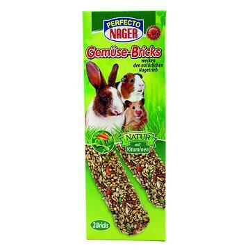 Perfecto Premium Nager Zeleninové tyčky 10 × 2ks/56 g (4036897218057)
