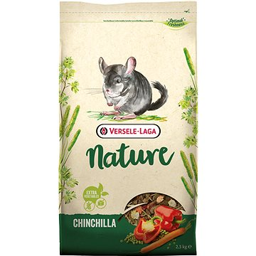 Versele Laga Nature Chinchilla pro činčily 2,3 kg (5410340614143)