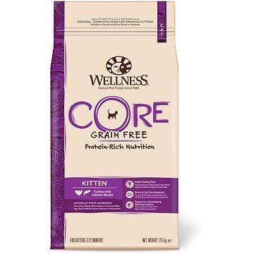Wellness Core Cat Kitten krůta a losos 1,75kg (076344107286)