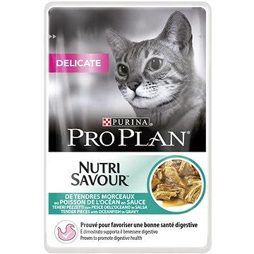 Pro Plan Cat Delicate s mořskými rybami 24 × 85 g (7613034588340)