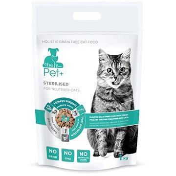ThePet+ 3in1 Cat Sterilised 1 kg (8595237015085)