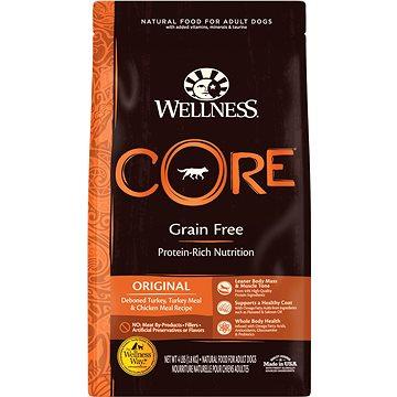 Wellness Core Dog Original krůta a kuře 10kg (076344107538)