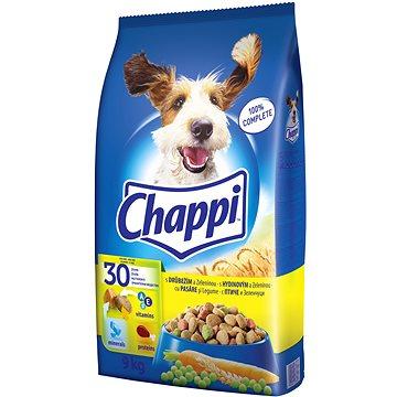 Chappi granule drůbeží se zeleninou pro dospělé psy 9kg (5900951283932)