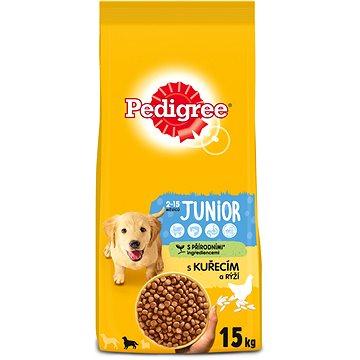 Pedigree Vital Protection granule kuřecí a rýže pro štěňata středních plemen 15kg (9003579302897)