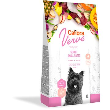 Calibra Dog Verve GF Senior Small Chicken & Duck 1,2 kg (8594062087847)