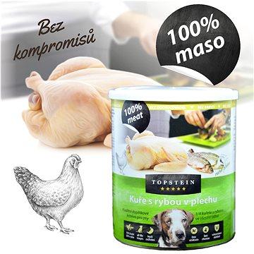Topstein Kuře s rybou v plechu 800 g (8594025080960)
