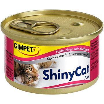 GimCat Shiny Cat kuře krab 70 g (4002064413136)