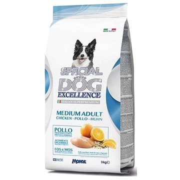 Monge Special Dog Excellence Medium Adult Chicken 3kg (8009470060028)