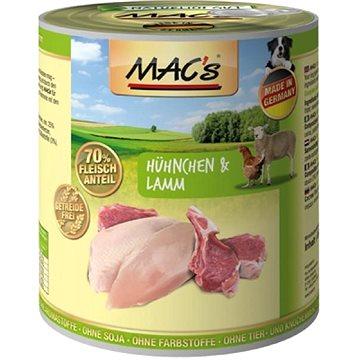 MAC's Dog Kuře a Jehně 400g (4027245009205)