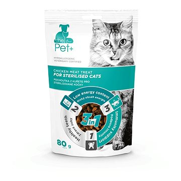 ThePet+ Cat Sterilised treat 80 g (8595237018048)