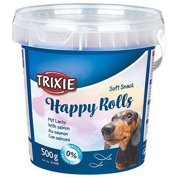 Trixie Soft Snack Happy Rolls tyčinky s lososem 500 g (4011905314983)