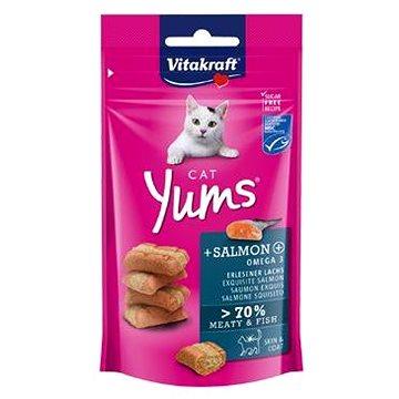 Vitakraft Cat pochoutka Yums losos 40 g (4008239288233)