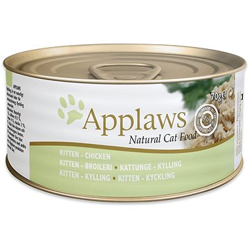 Applaws konzerva Kitten jemné kuře pro koťata 70 g (5060122490009)