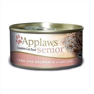 Applaws konzerva Senior Cat tuňák a losos v želé 70 g (5060333431952)