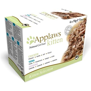 Applaws konzerva Kitten multipack 6 × 70 g (5060122496544)