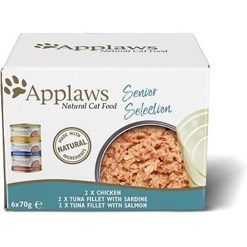 Applaws konzerva Senior Cat multipack 6 × 70 g (5060333439170)