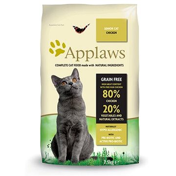 Applaws granule Cat Senior kuře 7,5 kg (5060333435844)