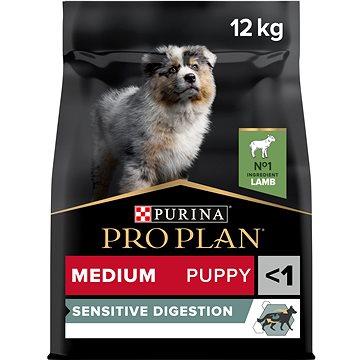 Pro Plan medium puppy optidigest jehněčí 12 kg (7613035214767)
