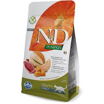 N&D PUMPKIN grain free cat duck & cantaloupe melon 1,5 kg (8010276035400)