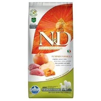 N&D PUMPKIN grain free dog adult M/L boar & apple 12 kg (8010276033376)