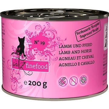 Catz finefood s jehněčím a koňským 200 g (4260101762283)