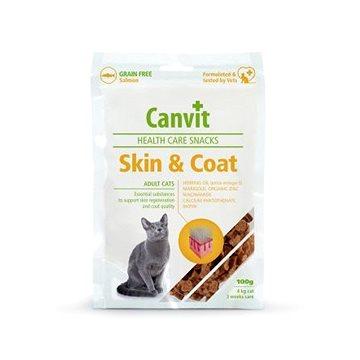 Canvit Snacks CAT Skin & Coat 100g (8595602514076)