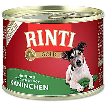 FINNERN konzerva Rinti Gold Senior králík 185g (4000158910301)