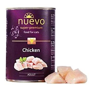 Nuevo kočka adult kuře konzerva 400g (4250231595165)