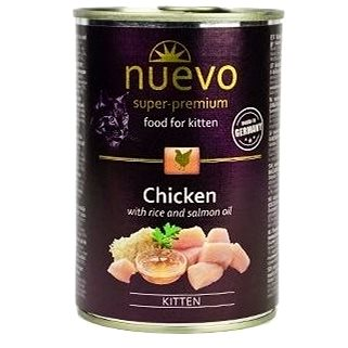 Nuevo kotě kuře konzerva 400g (4250231595226)
