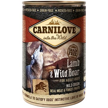 Carnilove wild meat lamb & wild boar 400 g (8595602529315)