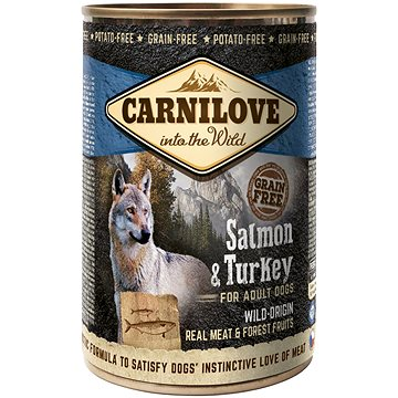 Carnilove wild meat salmon & turkey 400 g (8595602529278)
