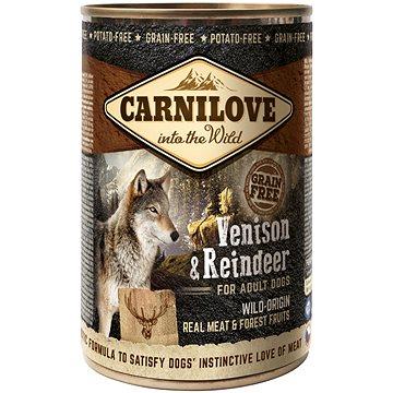 Carnilove wild meat venison & reindeer 400 g (8595602529292)