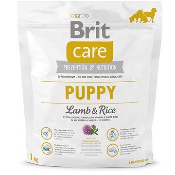 Brit Care puppy lamb & rice 1 kg (8595602509812)