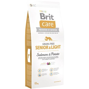 Brit Care grain-free senior & light salmon & potato 12 kg (8595602510269)