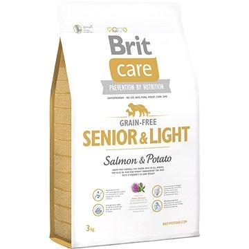 Brit Care grain-free senior & light salmon & potato 3 kg (8595602510283)