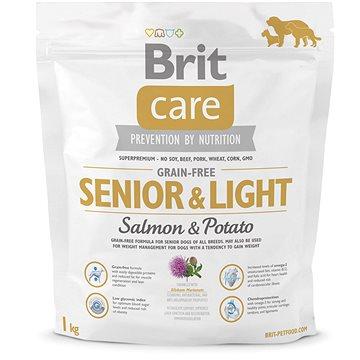 Brit Care grain-free senior & light salmon & potato 1 kg (8595602510290)