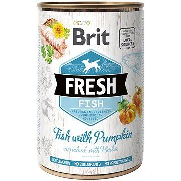 Brit Fresh Fish with pumpkin 400 g (8595602533862)