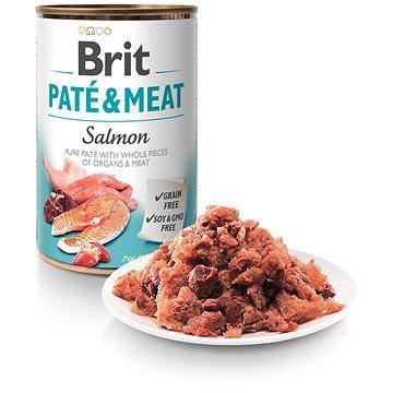 Brit Paté & Meat Salmon 400 g (8595602525133)