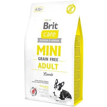 Brit Care mini grain free adult lamb 2 kg (8595602520107)