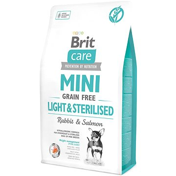 Brit Care mini grain free light & sterilised 2 kg (8595602521067)
