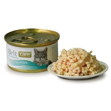 Brit Care Cat Kitten Chicken 80 g (8594031443032)