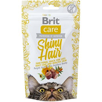 Brit Care Cat Snack Shiny Hair 50 g (8595602521388)