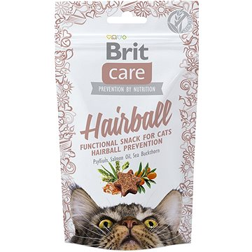 Brit Care Cat Snack Hairball 50 g (8595602521395)