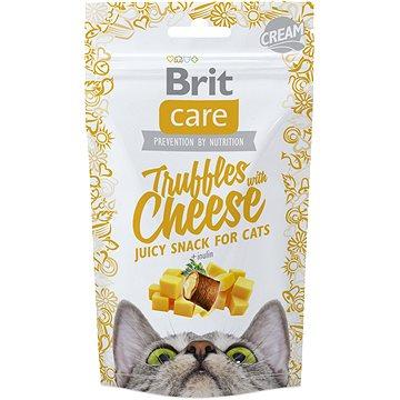 Brit Care Cat Snack Truffles Cheese 50 g (8595602521463)