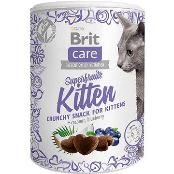 Brit Care Cat Snack Superfruits Kitten 100 g (8595602521425)