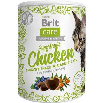 Brit Care Cat Snack Superfruits Chicken 100 g (8595602521432)
